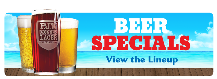 View the Beer Specials Line-Up