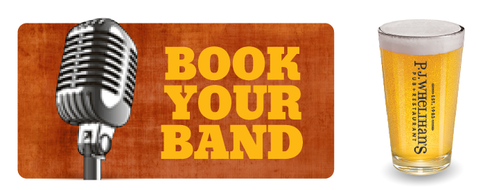 Book Your Band at PJ's