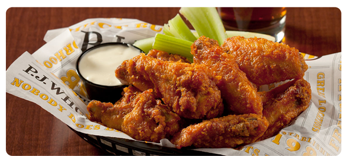 P.J. Whelihan's Pub + Restaurant : Home : Buffalo Wings ...