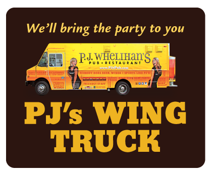 Inquire about PJ's Wing Truck and we'll bring the party to you