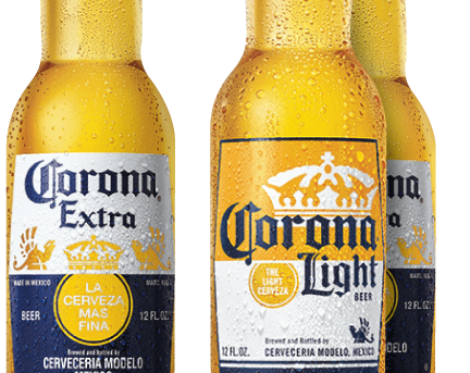$3 Corona and Corona Light