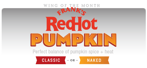 Wing of the Month : Frank's Red Hot Pumpkin