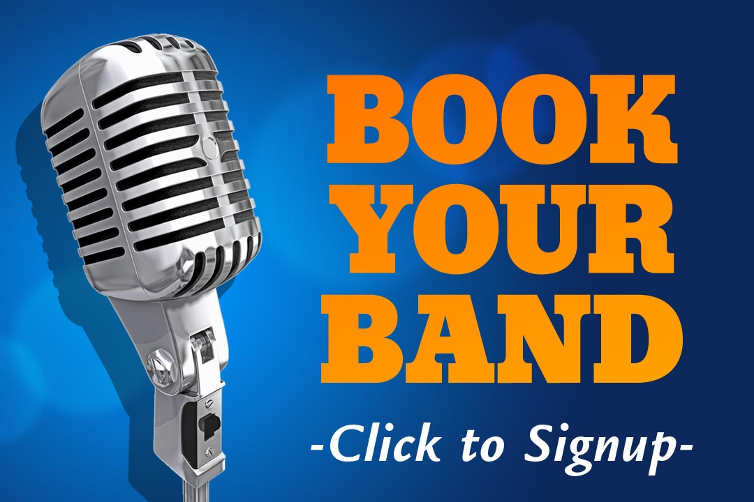 Book Your Band at PJ's : Click for More Info