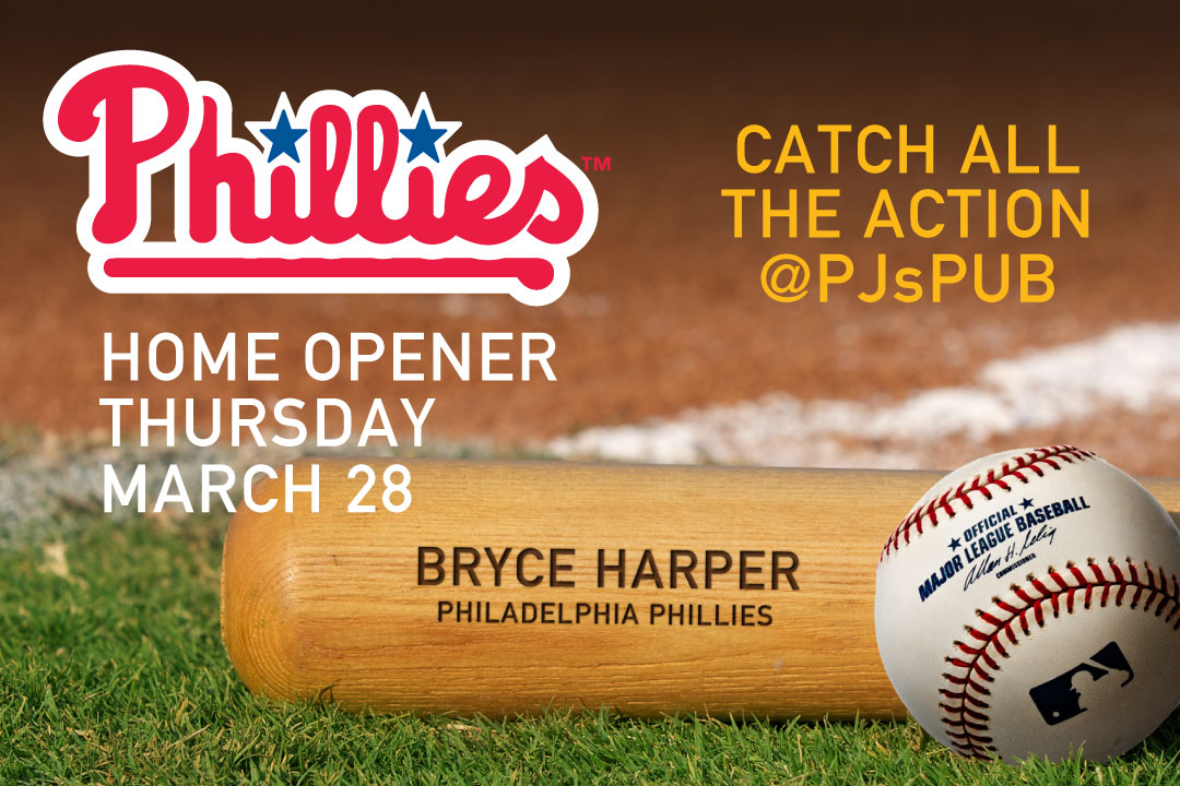 Phillies Home Opener Thursday, March 28th
