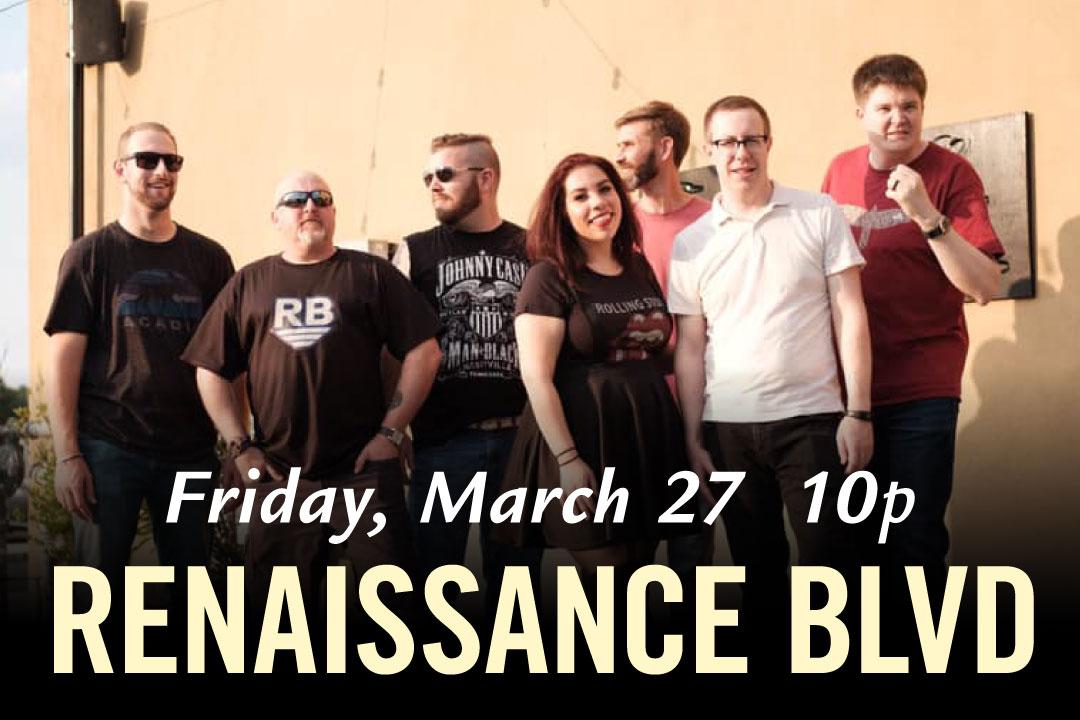 Renaissance Blvd. Friday, March 27
