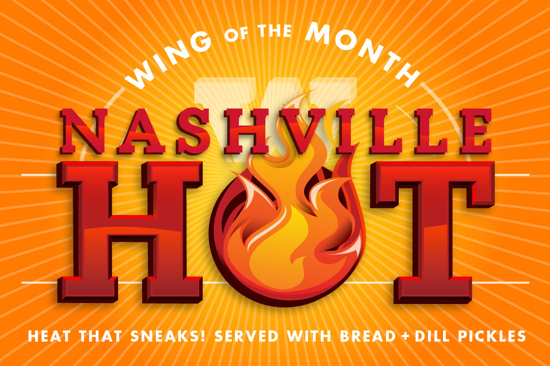 Wing of the Month Nashville Hot