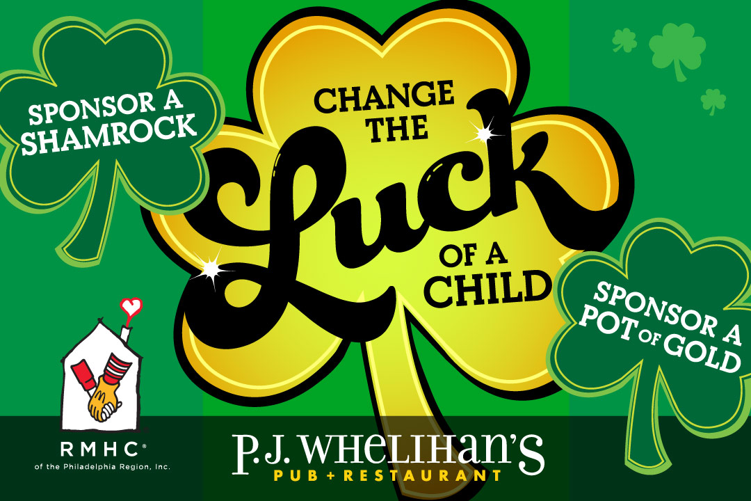 Change the Luck of a Child : Sponsor a Shamrock or a Pot of Gold : Ronald McDonald House Charity of the Philadelphia Region